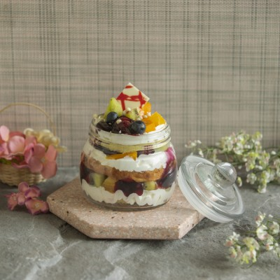 Mix Fruit Jar with French Cream 400g