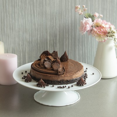 Baked Chocolate Cheese cake 850gms
