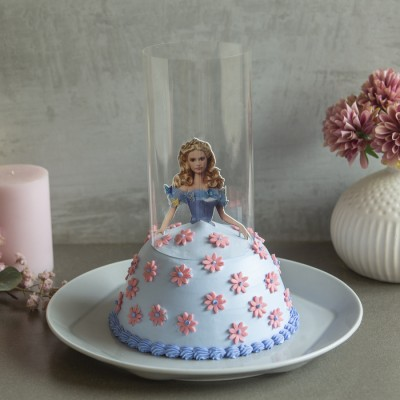 Barbie in Blue Dress Pull Me up Cake 750gms