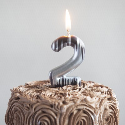 """""""2"""" Numeric Candles"""