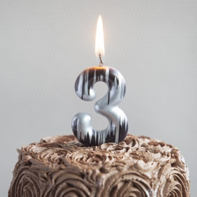 """""""3"""" Numeric Candles"""