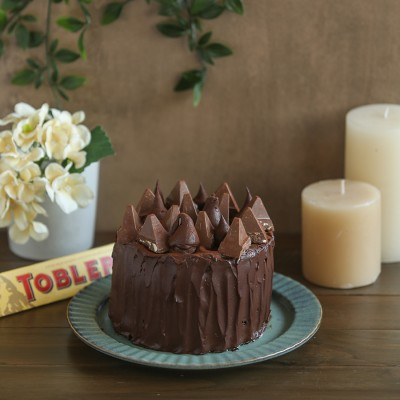 Overloaded Chocolate  Toblerone cake 750gms