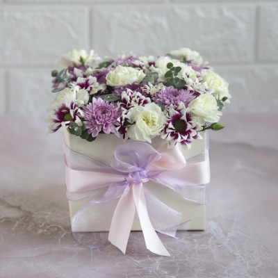 Petite Flowers in a Box