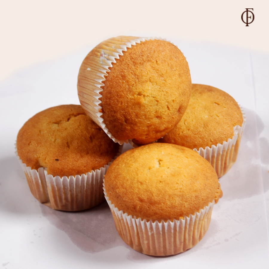 Blueberry Muffens 4Pcs (contains egg)