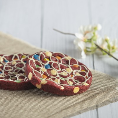 Red Velvet Cookie in a Box (100gms  1pc)