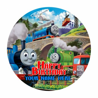 Thomas and Friends 500gms  photo cake